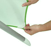 Poc ket Attached Tension Fabric