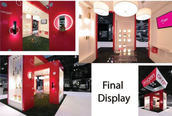 Final complete custom trade show display booth