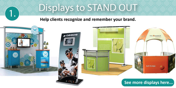 Displays to help your business stand out