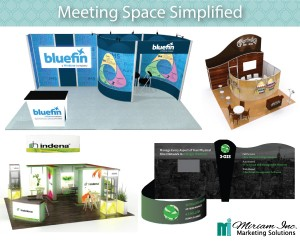 Trade show conference space